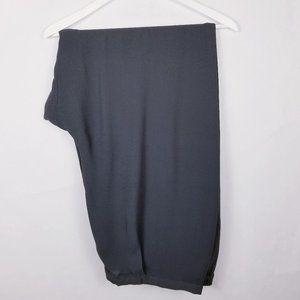 Eileen Fisher 100% Silk Crepe Straight Pants - 3X